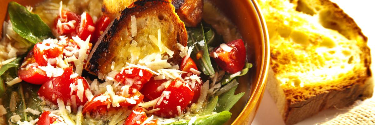 slide-1-zuppa-pane-di-matera-pomodori-formaggio-rucola-panecotto-vendita-prodotti-tipici-basilicata
